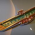 1957 Ford Thunderbird Emblem by Joseph Skompski