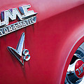 1957 Gmc V8 Pickup Truck Gmc Hydra-matic Emblem by Jill Reger