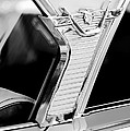 1957 Mercury Monterey Sedan -1030bw by Jill Reger