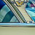 1957 Mercury Monterey Sedan Emblem by Jill Reger