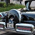 1957 Mercury Turnpike Rear End by Rosanne Jordan