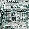 1957 Palais Del Elysee Paris Stamp by Bill Owen