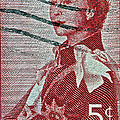 1957 St. Lawrence Seaway Opening Stamp by Bill Owen