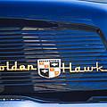 1957 Studebaker Golden Hawk Supercharged Sports Coupe Emblem by Jill Reger