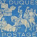 1958 Battle Of Fort Duquesne Stamp by Bill Owen