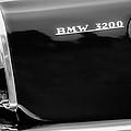 1958 Bmw 3200 Michelotti Vignale Roadster Grille Emblem -2467bw by Jill Reger