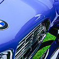 1958 Bmw 507 Series II Roadster Hood Emblem - Grille by Jill Reger