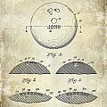 1958 Bowling Patent Drawing by Jon Neidert