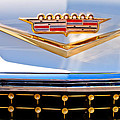 1958 Cadillac Eldorado Biarritz Convertible Emblem by Jill Reger