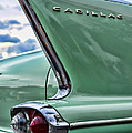 1958 Cadillac It's All In The Fin. by Paul Ward