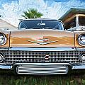 1958 Chevrolet Bel Air Impala Painted   by Rich Franco