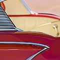 1958 Chevrolet Belair Abstract by Jill Reger