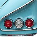 1958 Chevrolet Impala Taillights  by Jill Reger