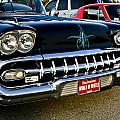 1958 Chevy Impala Front End Grill Work by Dennis Coates
