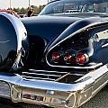 1958 Chevy Impala Rear Quater by Dennis Coates