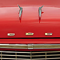 1958 Dodge Coronet Super D-500 Convertible Hood Ornament by Jill Reger