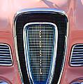 1958 Edsel Pacer Grille Emblem by Jill Reger