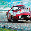 1958 Ferrari 250 Gt Tour De France by Roger Lighterness