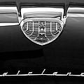 1958 Ford Fairlane 500 Victoria Hood Emblem by Jill Reger