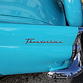 1958 Ford Thunderbird Detail by Christiane Schulze Art And Photography