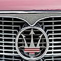 1958 Maserati Hood Emblem by Jill Reger
