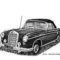 1958 Mercedes Benz 220s by Jack Pumphrey
