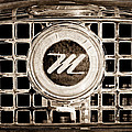 1958 Nash Metropolitan Grille Emblem by Jill Reger