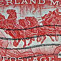 1958 Overland Mail Stamp by Bill Owen