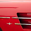 1958 Pegaso Z-103 Touring Berlinetta Side Emblem -1195c by Jill Reger