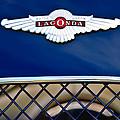 1959 Aston Martin Jaguar C-type Roadster Hood Emblem by Jill Reger
