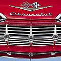 1959 Chevrolet Grille Ornament by Jill Reger