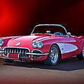 1959 Corvette Roadster 2 by Dave Koontz