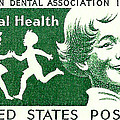 1959 Dental Health Postage Stamp by David Patterson