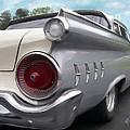 1959 Ford Galaxie by Yvonne Della-Moretta