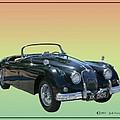 1959 Jaguar 150 S S Drop Head Coupe by Jack Pumphrey