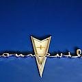 1959 Pontiac Bonneville Emblem by Jill Reger