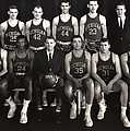 1959 University Of Michigan Basketball Team Photo by Mountain Dreams