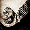 1960 Ac Aceca Grille Emblem -0058s by Jill Reger