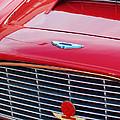 1960 Aston Martin Db4 Grille Emblem by Jill Reger