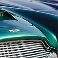 1960 Aston Martin Db4 Series II Grille - Hood Emblem by Jill Reger