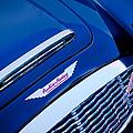 1960 Austin-healey 3000 Mki Bn7 Grille Emblem by Jill Reger