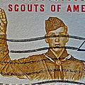 1960 Boy Scouts Stamp by Bill Owen