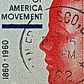 1960 Boys' Clubs Of America Movement Stamp by Bill Owen