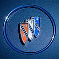 1960 Buick Lesabre Series 4400 Convertible Emblem by Jill Reger
