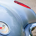 1960 Chevrolet Corvette Emblem - Taillight by Jill Reger