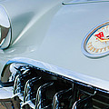 1960 Chevrolet Corvette Hood Emblem by Jill Reger