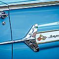 1960 Chevrolet Impala Emblem -340c by Jill Reger