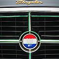 1960 Chrysler 300f Convertible Grille Emblem by Jill Reger