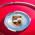 1960 Chrysler Imperial Crown Convertible Emblem by Jill Reger