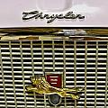 1960 Chrysler Windsor Hood Grill by Michael Gordon